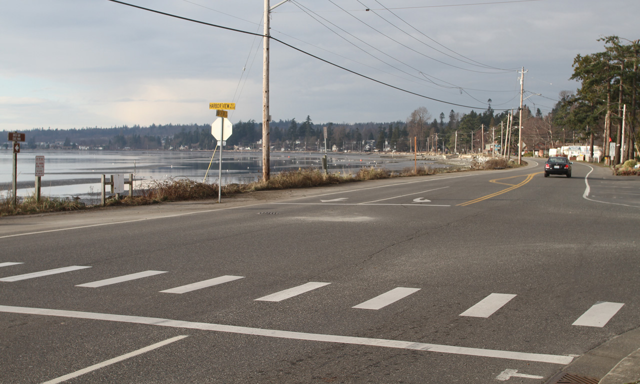 Birch Bay Intersection Of Drive And Harview Road